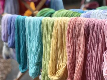 ** Available Now  ** Hand Dyed Wool Skeins