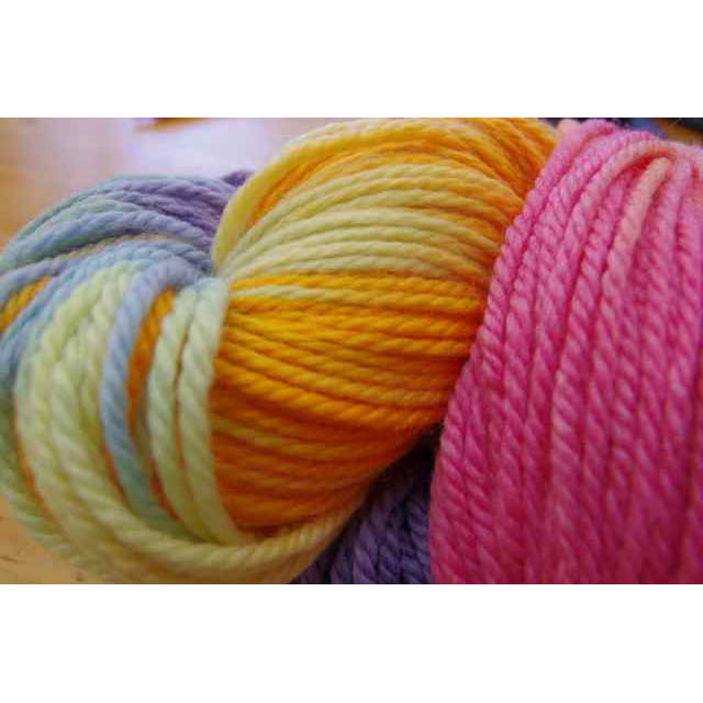 Rainbow Wool - 16ply, 250 gram skeins - Colour: Autumn