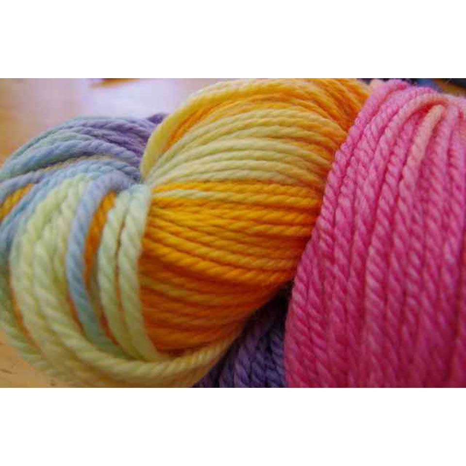 Rainbow Wool - 16ply, 250 gram skeins