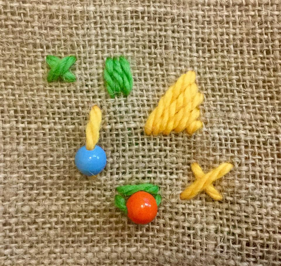 Children's Craft Pack - Wool Stitching
