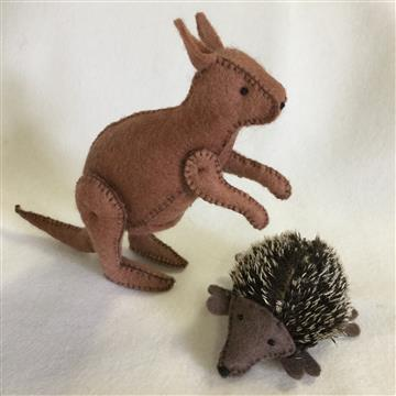 Echidna and Roo