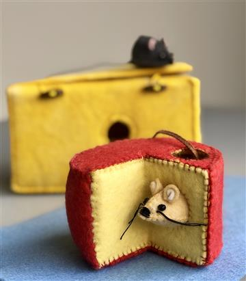 Edam Cheese Mouse House