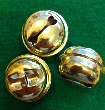 Gold Bells - 24mm (3)
