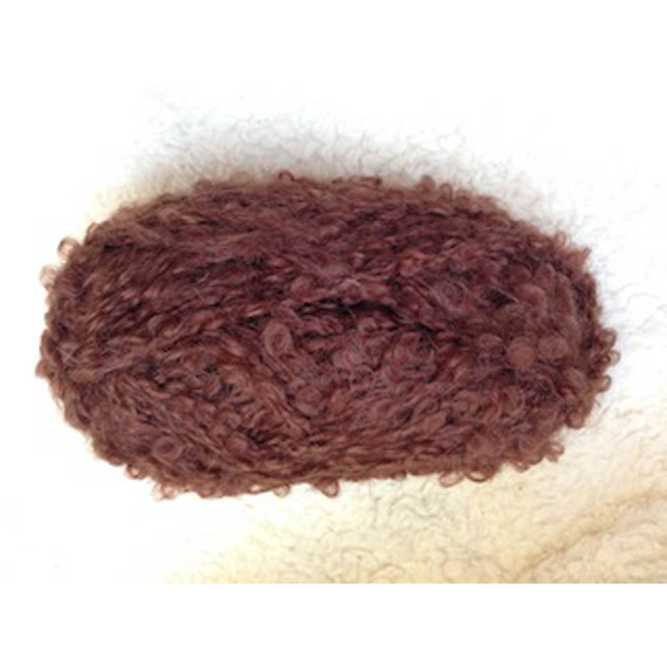 Brown H 04581 boucle 50g for dolls hair
