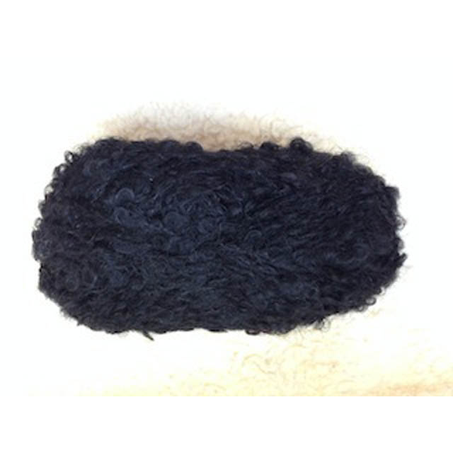 Black H 04580 boucle 50g for dolls hair