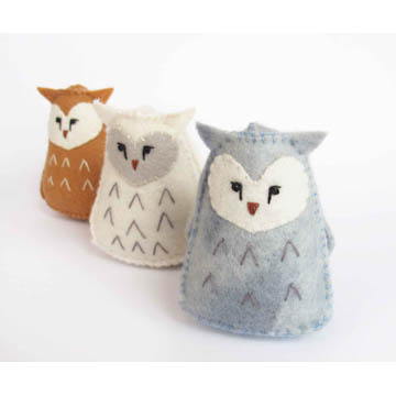 Felt Owl Sewing Pattern
