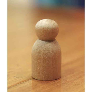Round Bodied 3cm Doll Base