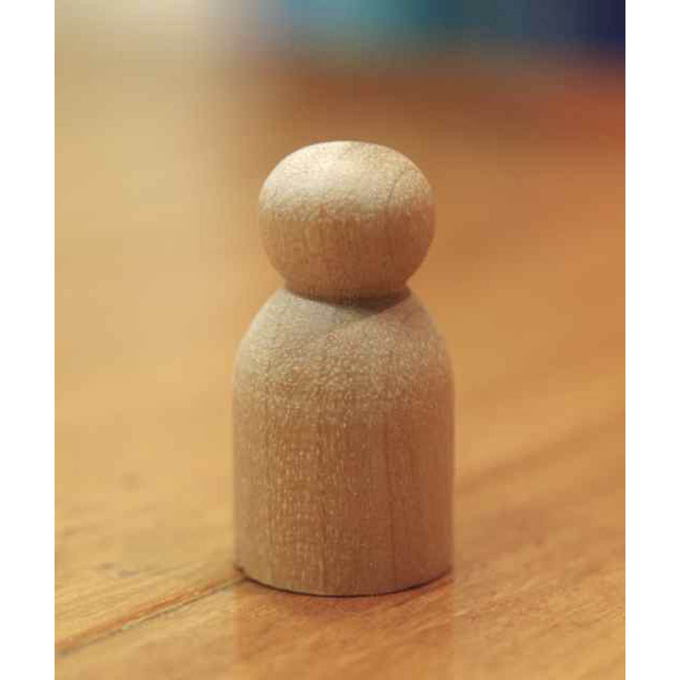 G. Wooden Doll Base 3cm (Tot)