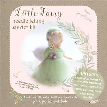 Little Fairy needle felting starter kit by Zuzu & Me