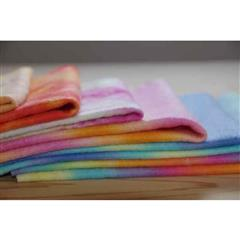 Multi-coloured 100% Wool Felt