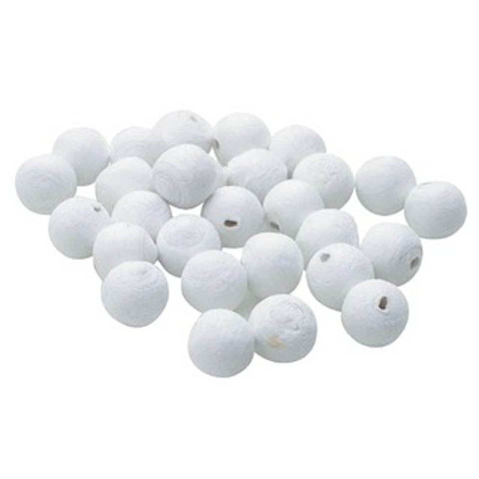 Pressed Cotton Balls - assorted sizes, pack of 6