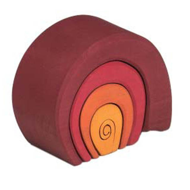 World of Colourful Shapes - wooden toys