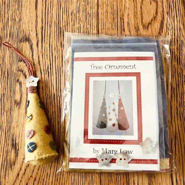 Tree Ornament by Marg Low