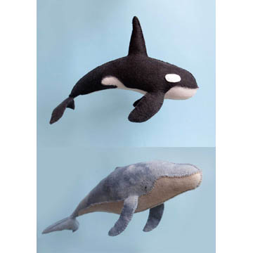 Humpback & Orca Sewing Pattern